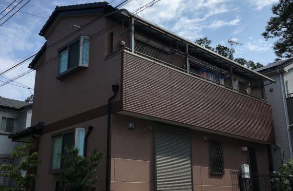 東京都 あきる野市 外壁塗装 施工事例① after