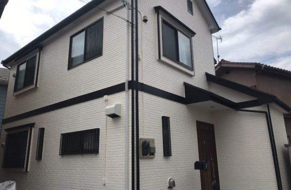 【東京都 青梅市】家屋 外壁塗装 施工事例①_after