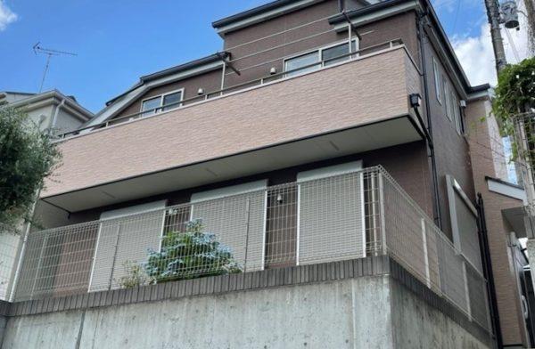 【東京都調布市】家屋 外壁塗装 施工事例④_after