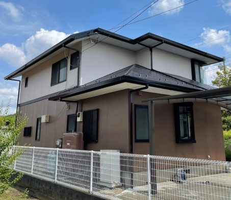 【東京都 西多摩郡】家屋 外壁塗装 施工事例②_after