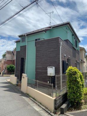 【東京都 青梅市】家屋 外壁塗装 施工事例②_after
